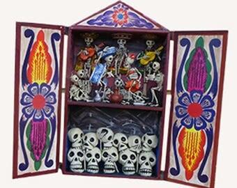 Retablo Day of the Dead