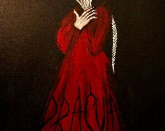 Bram Stokers Dracula -Painting