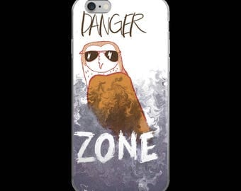 DangerZone Owl iPhone case