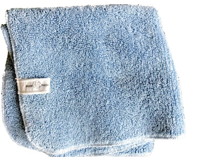Indigo Tonic, Organic Herbal Washcloth for dry + acne + combination skin care. Nourish with Nature