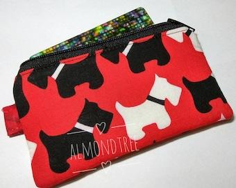 Terrier dog, zip coin purse, women wallet, portefeuille, id1370762 cardholder, jogging accessory pouch, id work, travel organizer