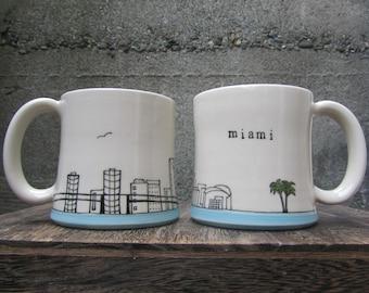 MADE TO ORDER ~ Miami Mug