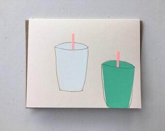 Lime & Horchata Aguas Frescas Card 2012