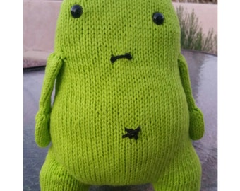 READY TO SHIP: Edward the Monster, Knit with Love