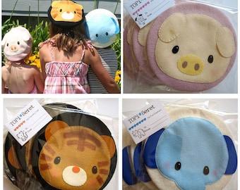 NEW TOPI Beret   Wearable Cute Felt Animals Wool Beret for Kids   Fun Adorable Animals Design Headpiece, Stylish Children Beret for Playdate