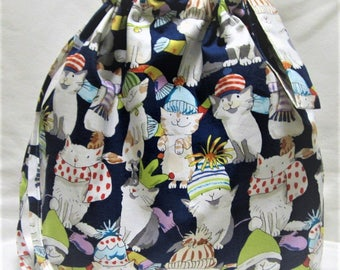 NEW - Medium Box Bottom Knitting Project Bag