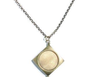 Brass Vega Necklace