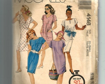 McCall's Misses' Dress-For Stretch Knits Only Pattern 4148