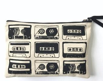 Cassette / Mixtape Zipper Pouch