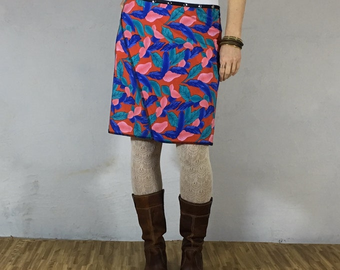 Snap Around Skirt, Leaf Classic by Erin MacLeod