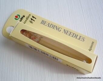 Tulip Beading Needle Size 11 - 4 Needles