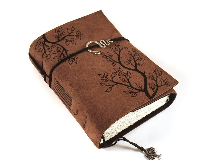 Journal, Leather, Diary, Notebook, Twigs