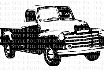 49 Chevy Truck svg cut file
