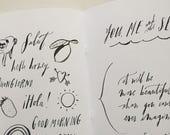 Brush-Lettering Workbook
