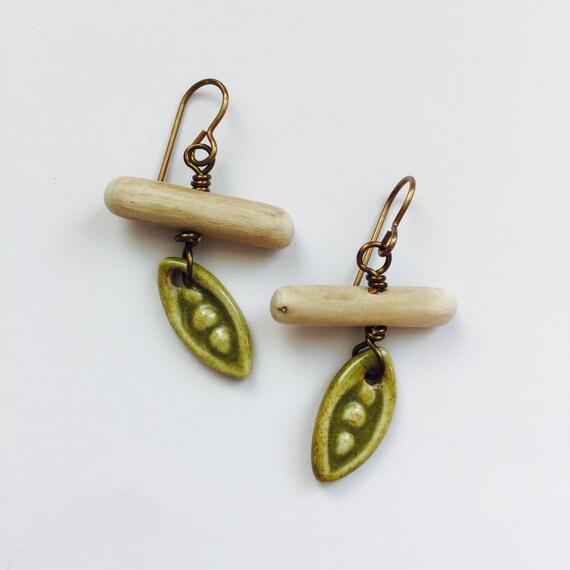 Three Peas in a Pod Earrings