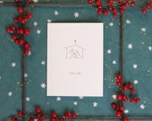 O Holy Night - Box of Six Letterpress Holiday Cards