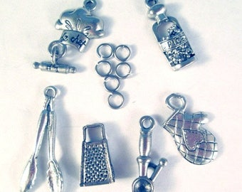 Add A Charm Listing, Add to your purchase in my shop-BUniqueDesigns1  Cooking Baking