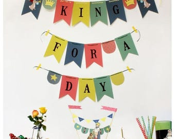 King for a Day, Father's Day Party Kit