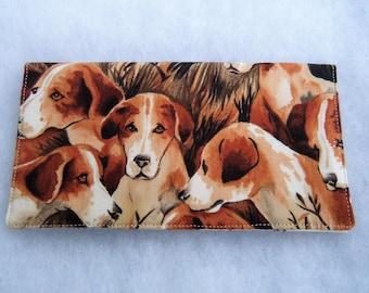 Checkbook Cover - Beagles