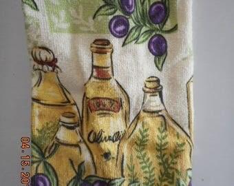 MadieBs Bottles of Oil and Vinegar Baslic Bag Holder Dispenser