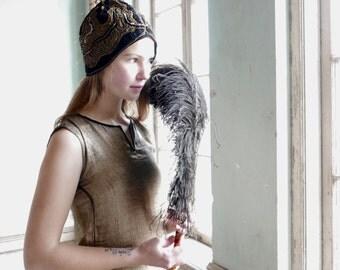 1920s Feather Fan