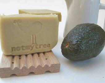 Avocado Buttermilk Soap, Handmade Soap, Unscented Soap, Natural Soap, Olive Oil Soap, Bar Soap, Skin Care, Christmas Gift, Stocking Stuffer