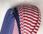 Clearance* Stars & Stripes~ Weaving Star Paper (50 strips)