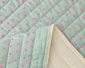 Japanese Fabric Nani Iro Pocho quilted double gauze - cherry soda - 50cm
