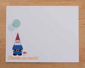 Thank You card — Woodland