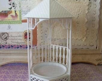 Love is Sweet / Sale / Vintage / Wedding Cake Topper / Gazebo