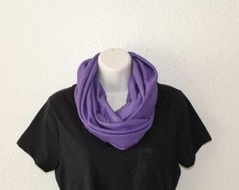 Purple plum Infinity Scarf