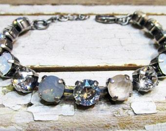 Winter Moonlight Serenade Swarovski Crystal Bracelet