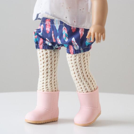 Knitting Pattern Doll Socks : Doll Knitting Pattern The Doll Tights PDF Knitting Pattern