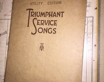 1934 Triumphant Service Songs