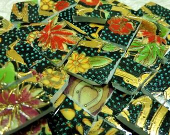 China Mosaic Tiles - ViNTaGE ORiENTAL BLeND - H.P. GOLD - Mosaic Tiles