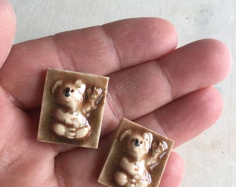 Mosaic Tile Koala Bear Porcelain Ceramic