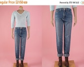 ON SALE Vintage Wrangler Worn Denim High Waist Jeans (Size 5/6)