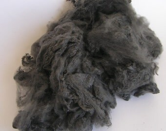 BAMBOO Black Diamond Carbonized Dark Gray Black Gold charcoal Loose fiber Bamboo SALE Rich spin craft  2 OZ
