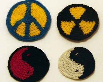 Iron-on upgrade for sew-on patches from Whatever Works