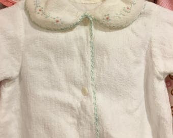 Very Vintage Baby Gown 0/6 Months