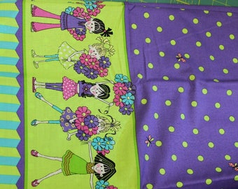 Dizzy Daisy Girls 100% cotton fabric by Patty Reed Designs