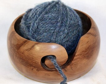 Handmade Red Gum Wooden Yarn Bowl - Orders Being Taken