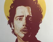 Chris Cornell Tribute Art Print Proceeds go to CHARITY digital