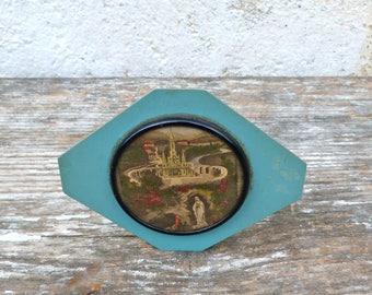 Vintage Antique 1900/1930 French Souvenir de Lourdes stand