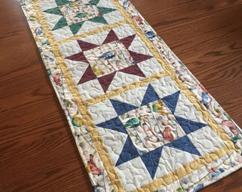 Bird Table Runner