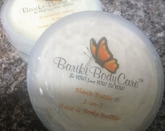 Black Butter 2-In-1 Hair & Body Butter
