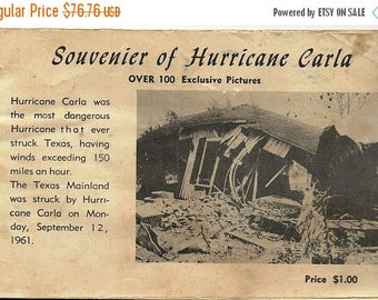 1961 Hurricane Carla: 100 Exclusive Pictures, Texas Salute, Civil Defense, The Weather Bureau, Radio, Newspapers, TV, Red Cross, Galveston