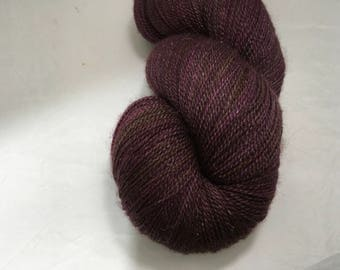 Frosted Webs Yarn - Wine & Wonder - Lace Weight Yarn - Ready to Ship