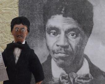 Dred Scott African American History Figure Miniature Sized Art Doll