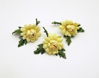 Vintage Flower Corsages Boutonnieres Vintage Wedding Rustic Wedding